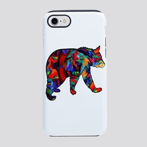 BEAR PAINTED iPhone 7 Tough Case