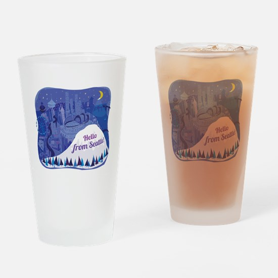 Cute Home theater Drinking Glass