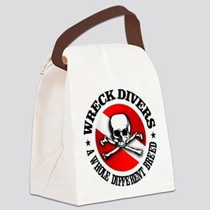 Wreck Divers (Different Breed) Canvas Lunch Bag
