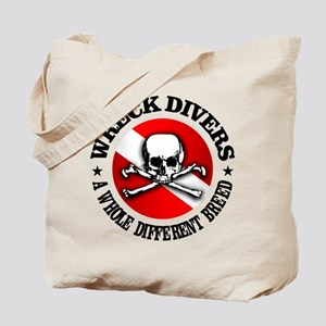 Wreck Divers (Different Breed) Tote Bag