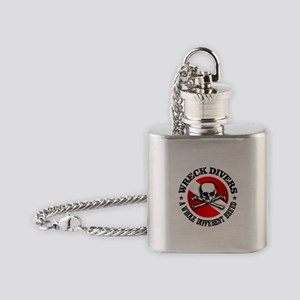 Wreck Divers (Different Breed) Flask Necklace