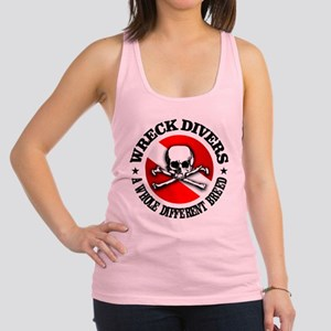 Wreck Divers (Different Breed) Racerback Tank Top
