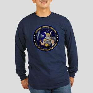 NROL-34 Program Logo Long Sleeve Dark T-Shirt