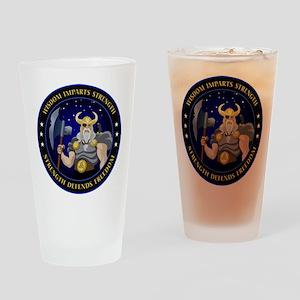NROL-34 Program Logo Drinking Glass