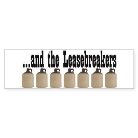 Leasebreakers Bumper Sticker