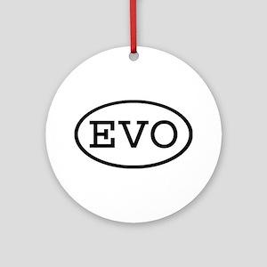 EVO Oval Ornament (Round)