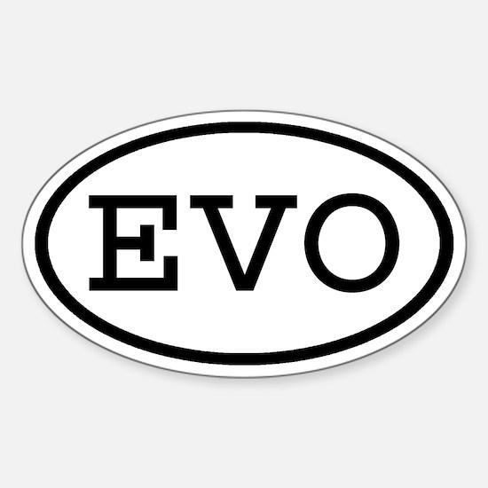 EVO Oval Oval Decal