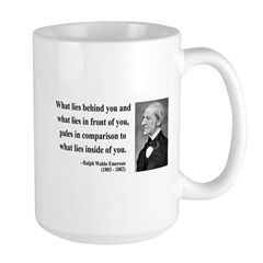 Ralph Waldo Emerson 11 Large Mug