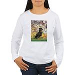 Spring / Rottweiler Women's Long Sleeve T-Shirt