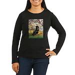 Spring / Rottweiler Women's Long Sleeve Dark T-Shi