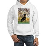 Spring / Rottweiler Hooded Sweatshirt
