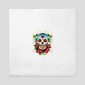 Day of the Dead Skull Queen Duvet
