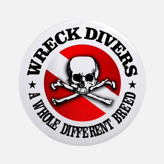 Wreck Divers (Different Breed) Ornament (Round)