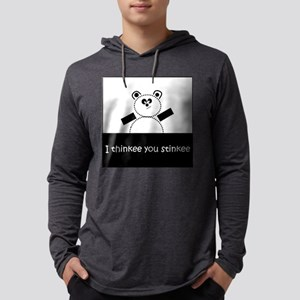 I Thinkee You Stinkee Mens Hooded Shirt