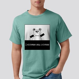 I Thinkee You Stinkee Mens Comfort Colors Shirt
