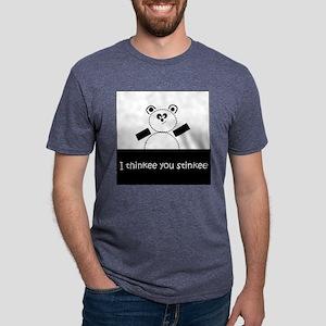 I Thinkee You Stinkee Mens Tri-blend T-Shirt