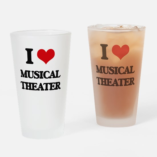 Cool Musical genres Drinking Glass