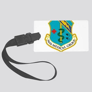 56th Medical Group Large Luggage Tag
