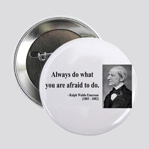 "Ralph Waldo Emerson 12 2.25"" Button"