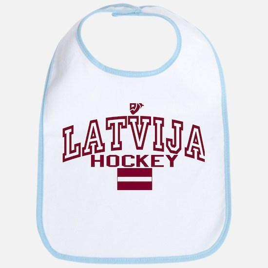 LV Latvija/Latvia Ice Hockey Bib