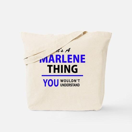 Cute Marlene Tote Bag
