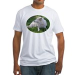 White Wolf Fitted T-Shirt