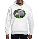 White Wolf Hooded Sweatshirt