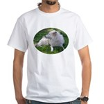 White Wolf White T-Shirt