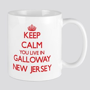 Keep calm you live in Galloway New Jersey Mugs