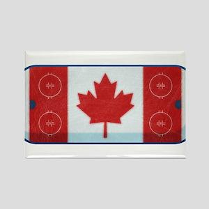 Hockey Rink Flag Magnets