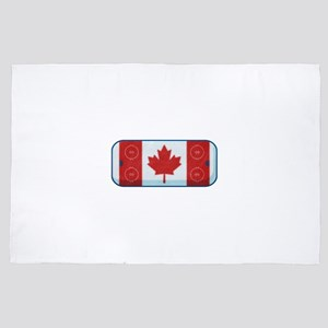 Hockey Rink Flag 4' x 6' Rug