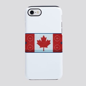 Hockey Rink Flag iPhone 7 Tough Case