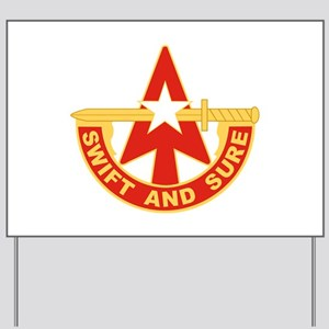 32nd Army Air Defense Artillery Command. Yard Sign