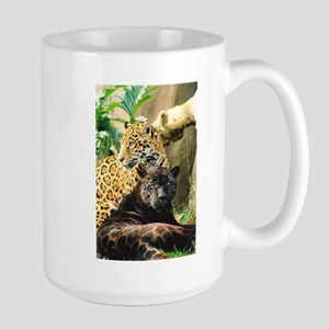 ildcrds Two Jaguars Large Mug