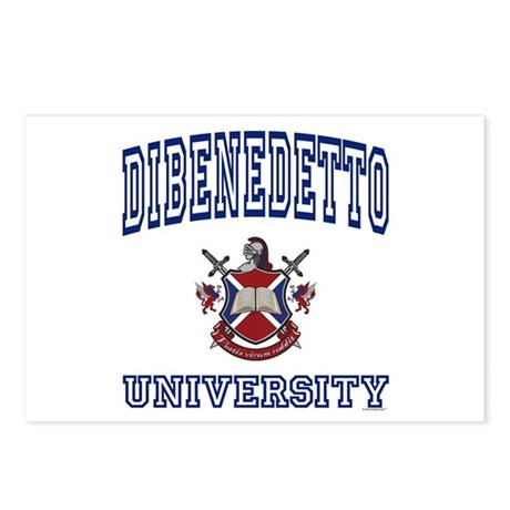 DIBENEDETTO University Postcards (Package of 8)