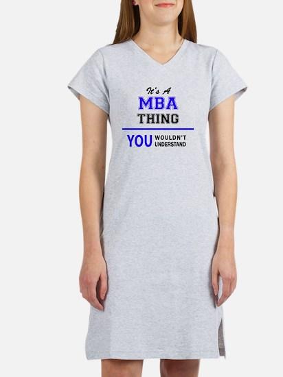 Cute Mba Women's Nightshirt