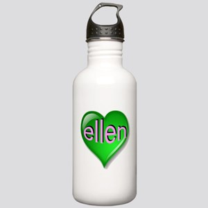 Love ellen Emerald Hea Stainless Water Bottle 1.0L