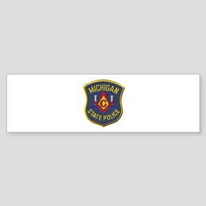 Michigan State Police Mason Bumper Sticker