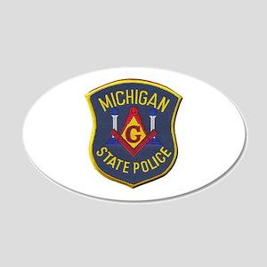 Michigan State Police Mason Wall Decal