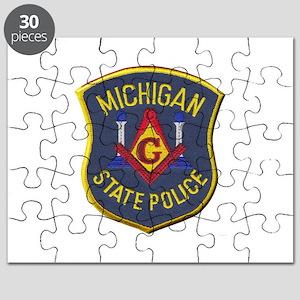 Michigan State Police Mason Puzzle