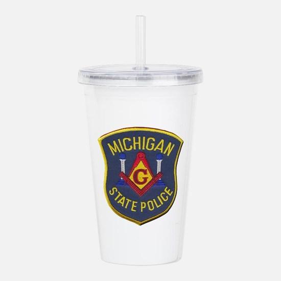 Michigan State Police Mason Acrylic Double-wall Tu