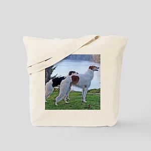 The Lake Borzoi Duo Tote Bag