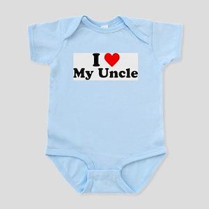 I Heart My Uncle Infant Bodysuit