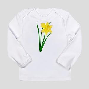 Yellow Daffodil Long Sleeve T-Shirt