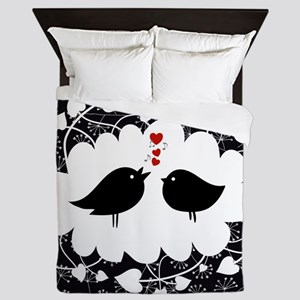 Love Bird's Song Queen Duvet