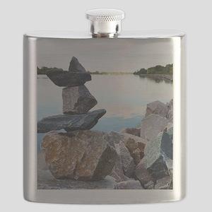 Stevens Point Rocks Flask
