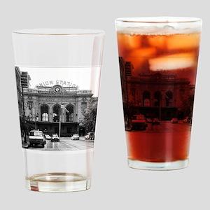 Union Street in the Rain Drinking Glass