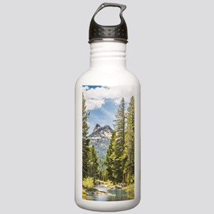 Mountain River Scene Stainless Water Bottle 1.0L