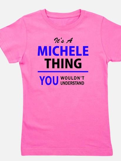 Cute Michele Girl's Tee