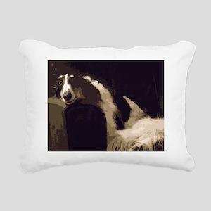 I'm Watching You Rectangular Canvas Pillow